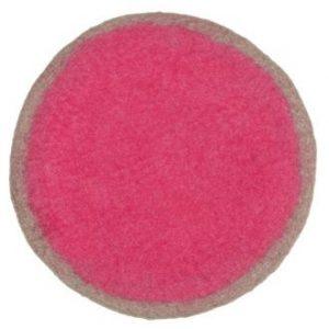 Muskhane Lumbini Rug Cumulus/Fluro Pink