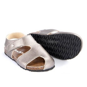 Scruffy Dog Buddy Sandal Pewter