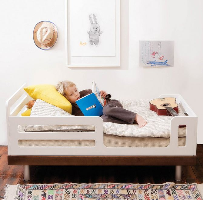 Oeuf Classic Toddler Bed Walnut 4
