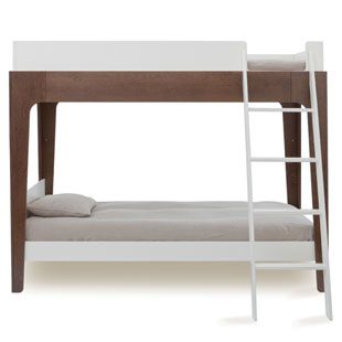 Oeuf Perch Bunk Bed Walnut