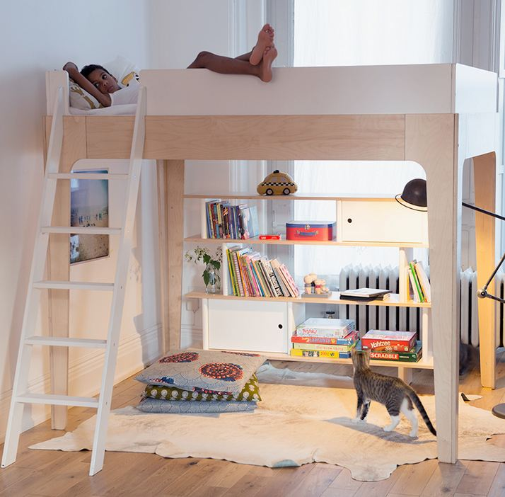 Oeuf Perch Loft Bed Birch 5