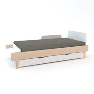 Oeuf River Single Trundle Bed