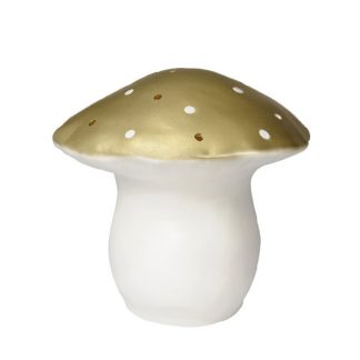 Heico Large Mushroom Nightlight Gold