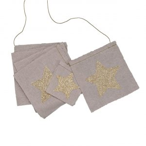 Numero 74 Fancy Star Garland Dusty Pink