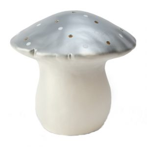 Heico Large Mushroom Nightlight Silver
