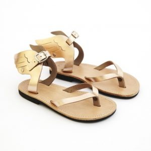 Gold Frankincense & Myrrh Wings Sandal Copper