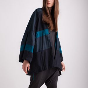 Kin Womens Kimono Cover Up Blues