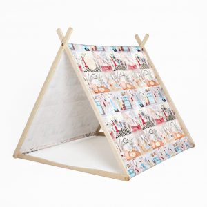 Such Great Heights Wonder Tent Canopy Dollshouse Print