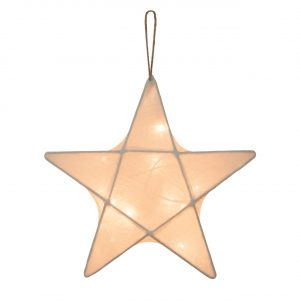 Numero 74 Star Lantern Natural