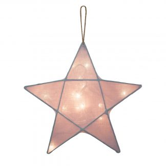Numero 74 Star Lantern Dusty Pink