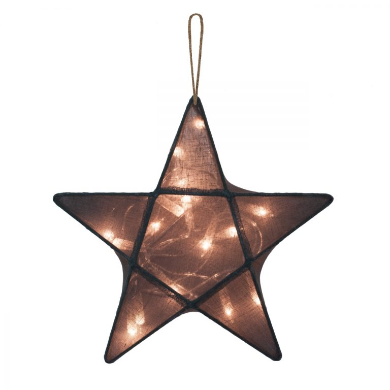 Numero 74 Star Lantern Charcoal