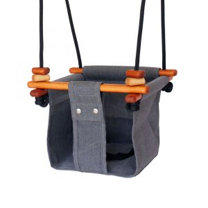Solvej Baby & Toddler Swing Smokey Grey