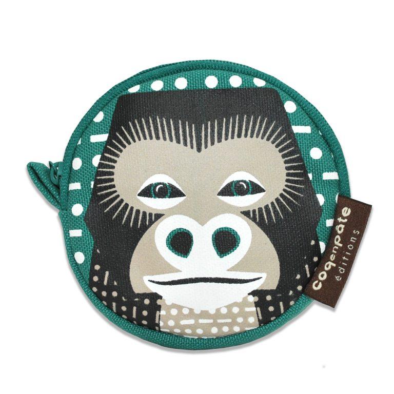 Coq en Pate Coin Purse Gorilla