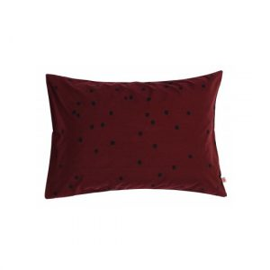 La Cerise Sur Le Gateau Odette Pillowcase Marsala
