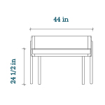 oeuf-brooklyn-desk-measurements