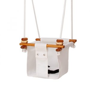 Solvej Baby & Toddler Swing Merino White