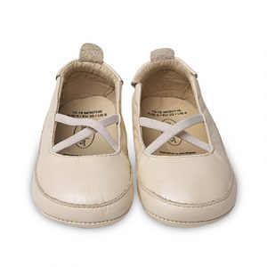 Old Soles Ballet Cross Pearl Metallic