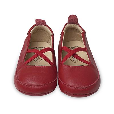 Old Soles Ballet Cross Red