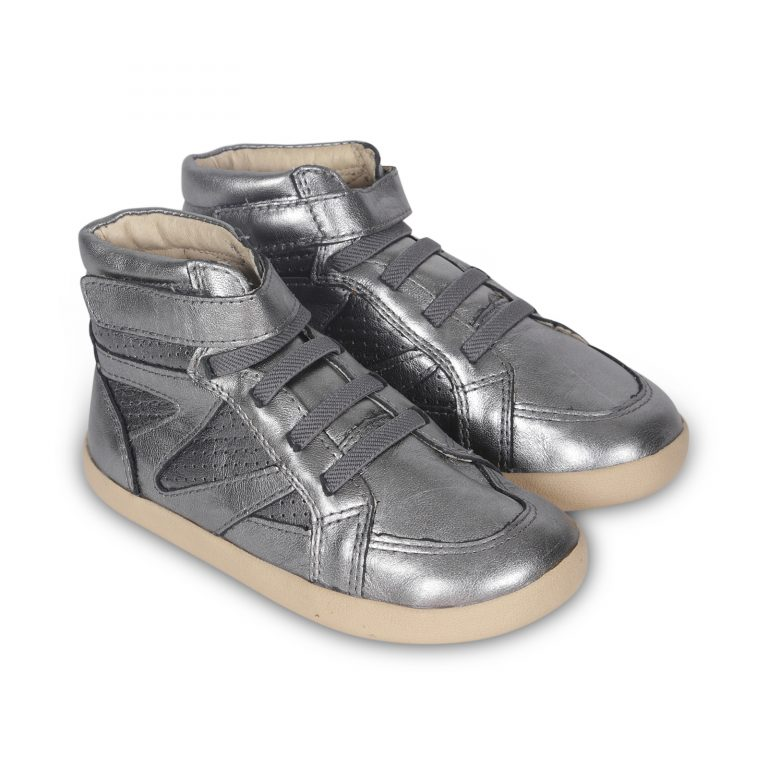 Old Soles Cheer Leader High Top Rich Silver