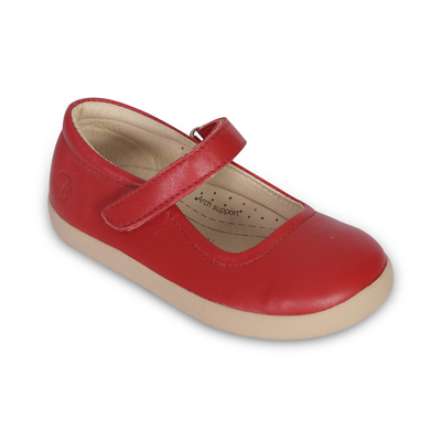 Old Soles Miss Jane Red Leather