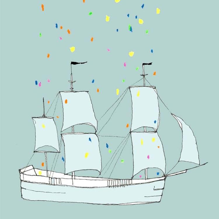 Pax and Hart Print This Ship Has Sailed