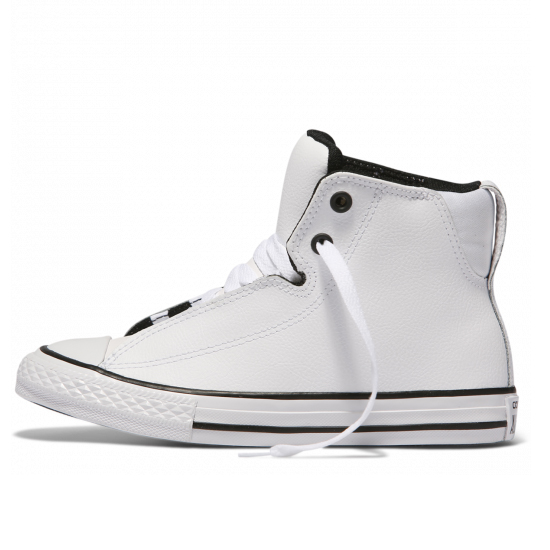 Converse Chuck Taylor All Star Legit Leather Youth High Top White  047468728