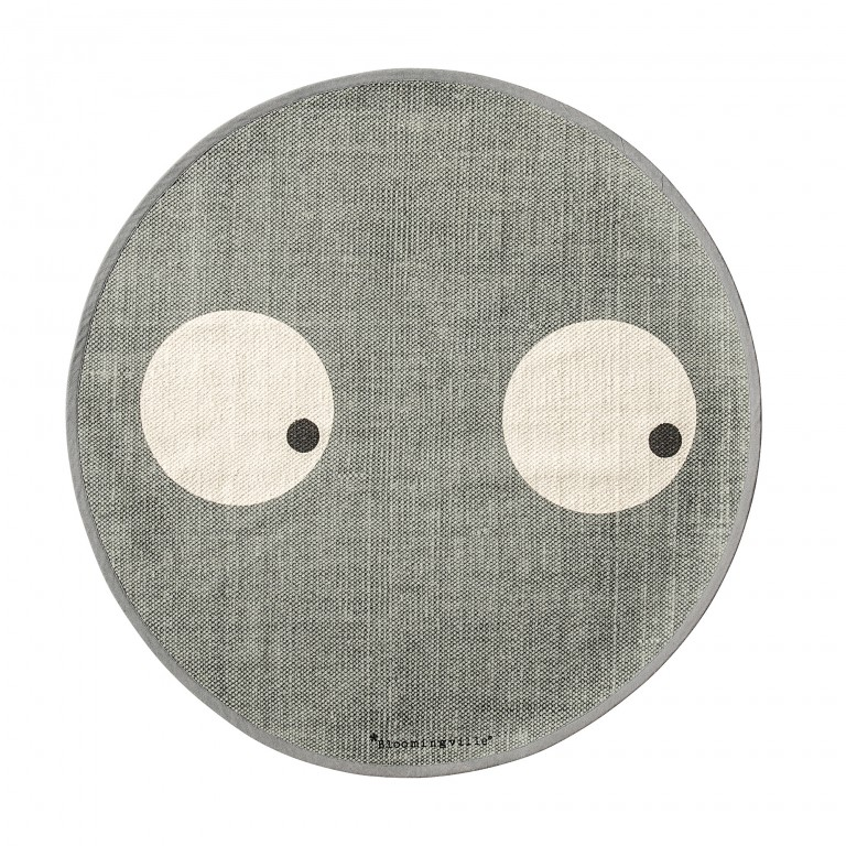 Bloomingville Rug Cool Grey 80cm