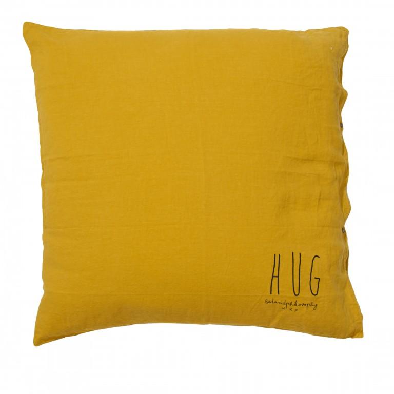 Bed & Philosophy Hug Cushion Curry