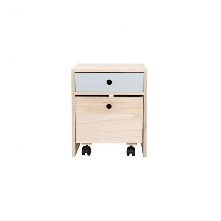 Bloomingville Bedside Table Blue