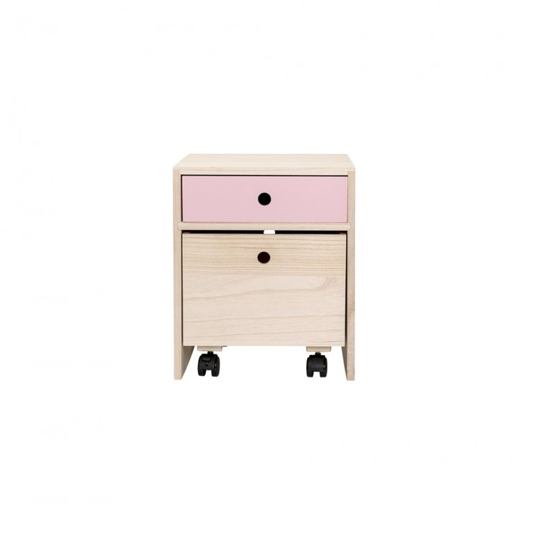 Bloomingville Bedside Table Rose