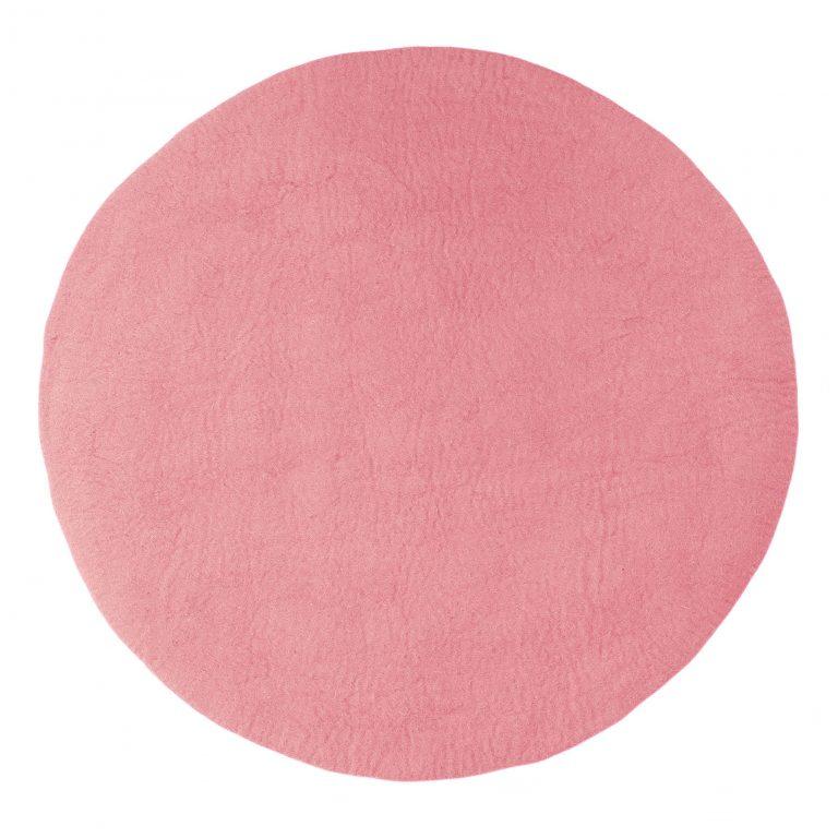 Muskhane Kali Rug Indian Pink