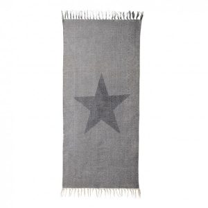 bloomingville rug-star-print-light-grey-60x120cm