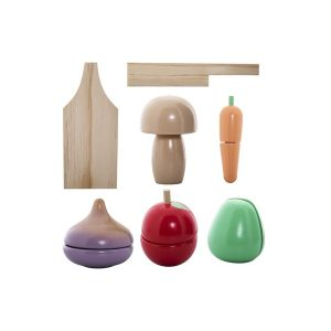 Bloomingville Wooden Food Play Set