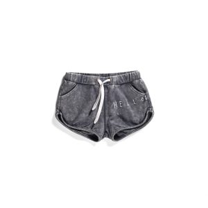 Minti Hello Goodbye Track Short Midnight Wash