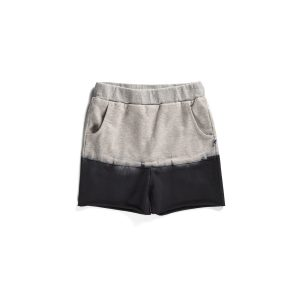 Minti Dip Dye Pouch Short Grey Black