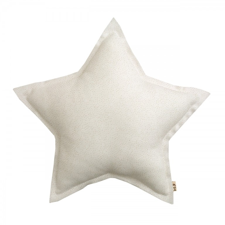 Numero 74 Star Cushion Sparkling White