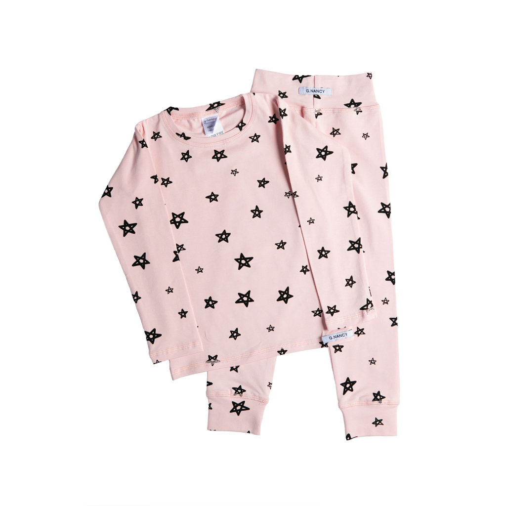 G.Nancy Star Long Sleeve PJ Set Rose  7a117c8bb
