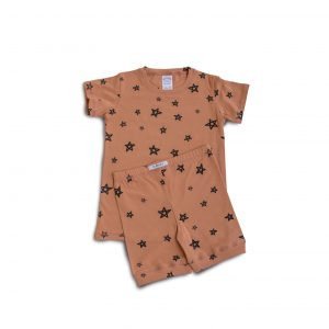 g-nancy-star-shortie-pj-set-terracotta