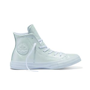 Converse Chuck Taylor All Star Iridescent Leather High Top White