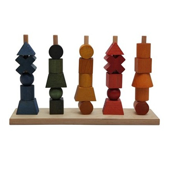 Wooden Story Rainbow Stacking Toy