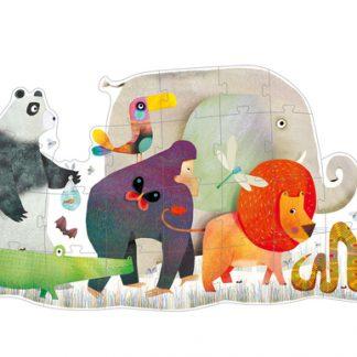 Djeco Animal Parade Giant Puzzle 36pc