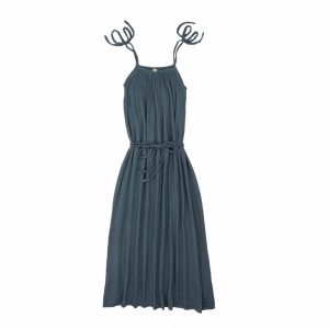 Numero 74 Mia Mum Long Dress Ice Blue