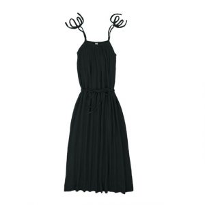 Numero 74 Mia Mum Long Dress Dark Grey