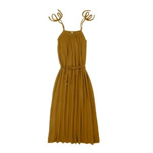 Numero 74 Mia Mum Long Dress Gold