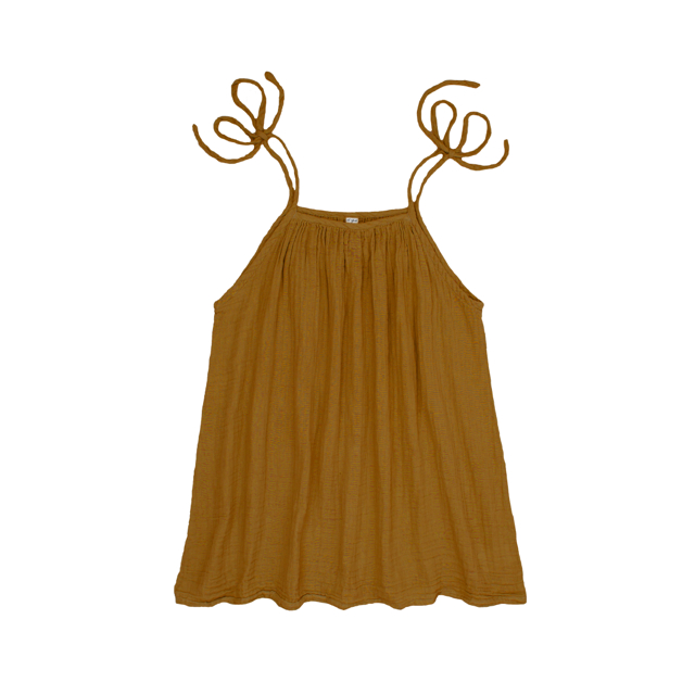 Numero 74 Mia Mum Short Dress Gold