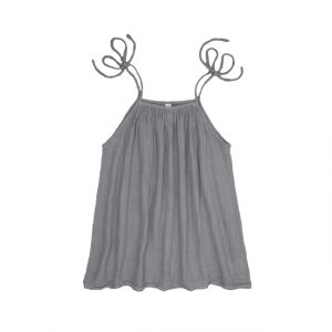 Numero 74 Mia Mum Short Dress Stone Grey