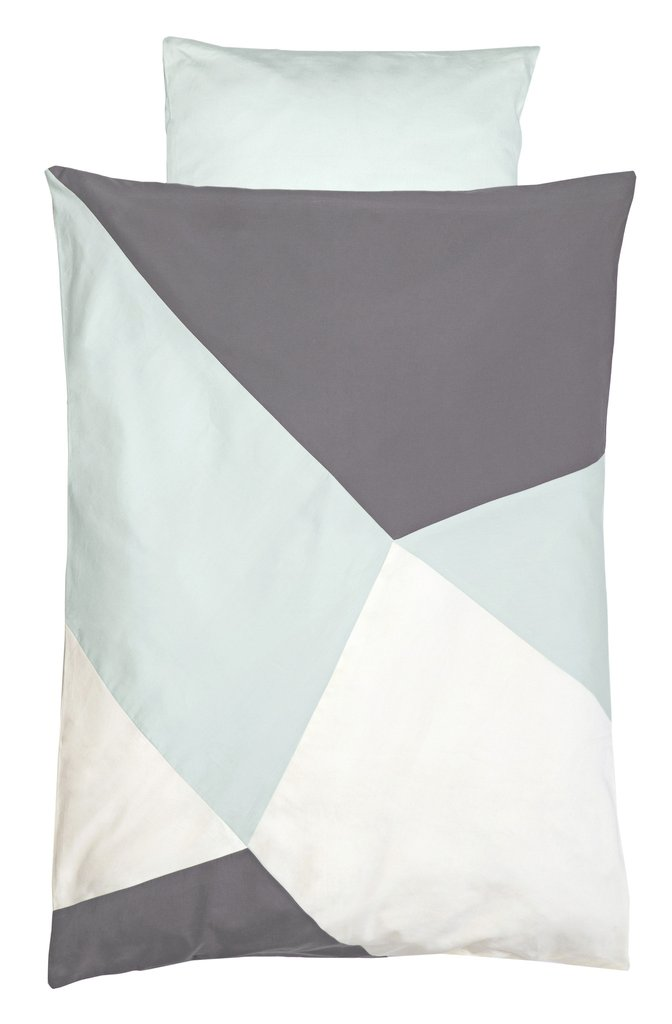 Fabelab Sleepy Quilt Cover Set Jade