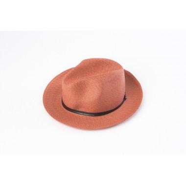 Travaux En Cours Borsalino Hat Terracotta