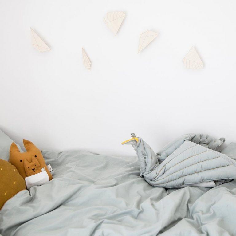 Fabelab Dreamy Bedding Foggy Blue Cot