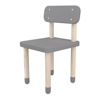 Flexa Play Chair With Backrest Urban Grey